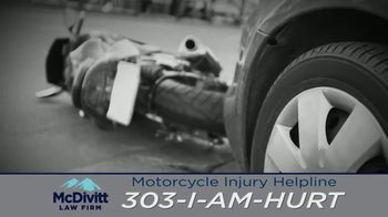 McDivitt Law Firm, P.C. TV Spot, 'Motorcycle Injury Helpline' - Thumbnail 2