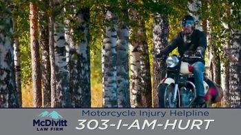 McDivitt Law Firm, P.C. TV Spot, 'Motorcycle Injury Helpline' - Thumbnail 3