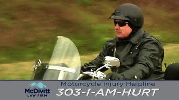 McDivitt Law Firm, P.C. TV Spot, 'Motorcycle Injury Helpline' - Thumbnail 4