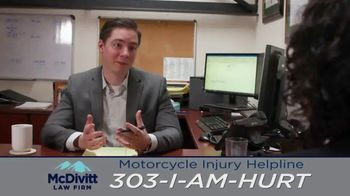 McDivitt Law Firm, P.C. TV Spot, 'Motorcycle Injury Helpline' - Thumbnail 5