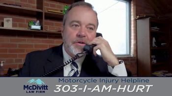 McDivitt Law Firm, P.C. TV Spot, 'Motorcycle Injury Helpline' - Thumbnail 6