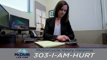 McDivitt Law Firm, P.C. TV Spot, 'Motorcycle Injury Helpline' - Thumbnail 7