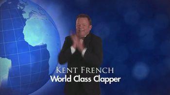 The Clapper TV Spot, 'World Class Clapper: Bob Ross' Featuring Kent French - Thumbnail 1