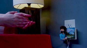 The Clapper TV Spot, 'World Class Clapper: Bob Ross' Featuring Kent French - Thumbnail 5