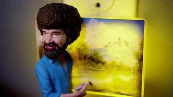 The Clapper TV Spot, 'World Class Clapper: Bob Ross' Featuring Kent French - Thumbnail 7