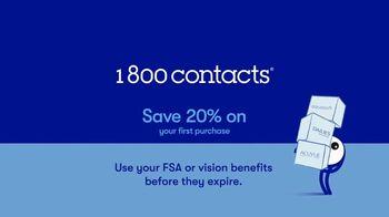 1-800 Contacts TV Spot, 'Shauna: FSA & 20% Off' - Thumbnail 8