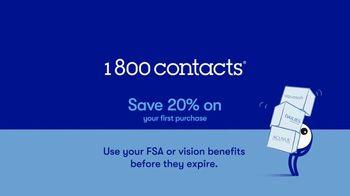 1-800 Contacts TV Spot, 'Shauna: FSA & 20% Off' - Thumbnail 7