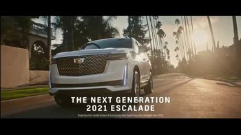 2021 Cadillac Escalade TV Spot, 'Never Stop Arriving' Featuring Regina King, Song by DJ Shadow, Run the Jewels [T1] - Thumbnail 1