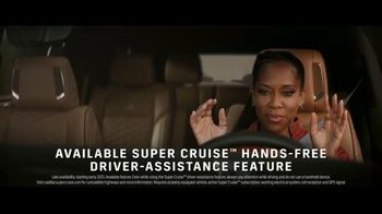 2021 Cadillac Escalade TV Spot, \'Never Stop Arriving\' Featuring Regina King, Song by DJ Shadow, Run the Jewels [T1]