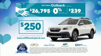 Subaru Share the Love Event TV Spot, 'Winter Wonderland: Outback' [T2] - Thumbnail 9