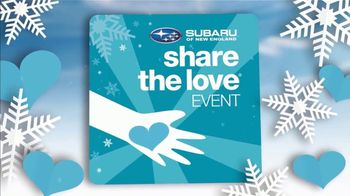 Subaru Share the Love Event TV Spot, 'Winter Wonderland: Outback' [T2] - Thumbnail 2