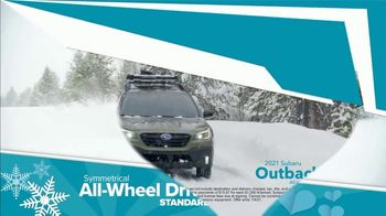 Subaru Share the Love Event TV Spot, 'Winter Wonderland: Outback' [T2] - Thumbnail 4