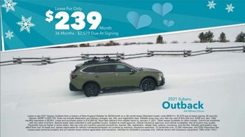 Subaru Share the Love Event TV Spot, 'Winter Wonderland: Outback' [T2] - Thumbnail 5