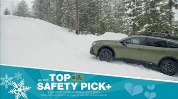 Subaru Share the Love Event TV Spot, 'Winter Wonderland: Outback' [T2] - Thumbnail 6