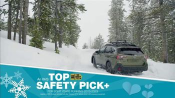 Subaru Share the Love Event TV Spot, 'Winter Wonderland: Outback' [T2] - Thumbnail 7