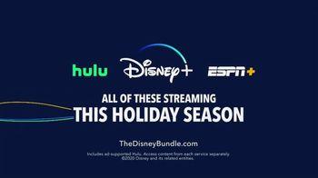 Disney+, Hulu and ESPN Bundle TV Spot, 'Holidays: Bundle Up' - Thumbnail 10