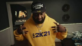 NBA 2K21 TV Spot, 'Give the Gift of Game' - Thumbnail 6