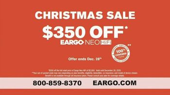 Eargo Christmas Sale TV Spot, 'Guess the Price Game Show: Save $350' - Thumbnail 9