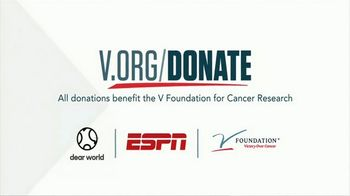 The V Foundation for Cancer Research TV Spot, 'Dear Victory' - Thumbnail 10