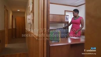 Society for Human Resource Management TV Spot, 'Veterans at Work: Support' - Thumbnail 3