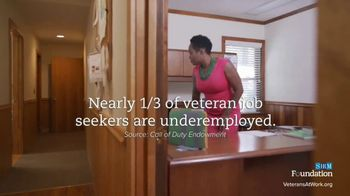 Society for Human Resource Management TV Spot, 'Veterans at Work: Support' - Thumbnail 4