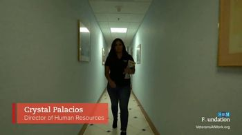 Society for Human Resource Management TV Spot, 'Veterans at Work' - Thumbnail 6
