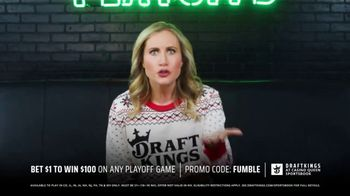 DraftKings at Casino Queen Sportsbook TV Spot, ''Tis the Playoffs: Bet $1' - Thumbnail 5