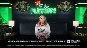 DraftKings at Casino Queen Sportsbook TV Spot, ''Tis the Playoffs: Bet $1' - Thumbnail 6