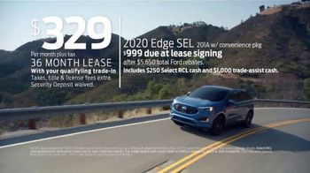 Ford Presidents Day Sellathon TV Spot, 'Come In: Edge' [T2] - Thumbnail 2
