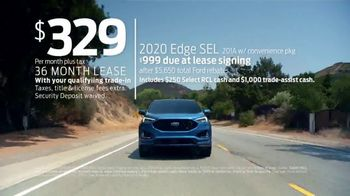 Ford Presidents Day Sellathon TV Spot, 'Come In: Edge' [T2] - Thumbnail 3