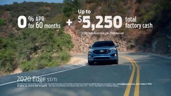 Ford Presidents Day Sellathon TV Spot, 'Come In: Edge' [T2] - Thumbnail 4