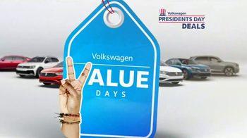 Volkswagen Presidents Day Deals TV Spot, 'Value Days: Even More Value' [T2] - Thumbnail 1