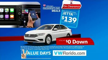 Volkswagen Presidents Day Deals TV Spot, 'Value Days: Even More Value' [T2] - Thumbnail 3