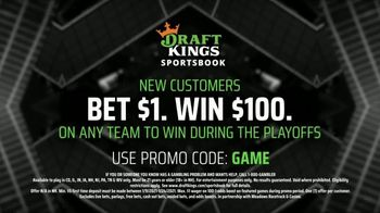 DraftKings Sportsbook TV Spot, 'Quarterfinal Odds' - Thumbnail 5