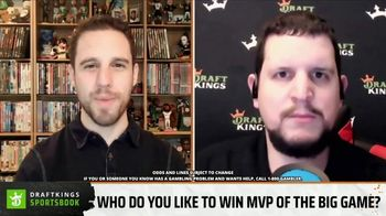 DraftKings Sportsbook Big Game Prediction Challenge TV Spot, 'The Big Game Prop Bets' - Thumbnail 3