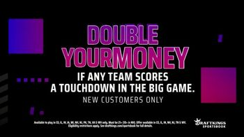 DraftKings Sportsbook TV Spot, 'Tis the Big Game: Double Your Money: New Customers Only' - Thumbnail 3