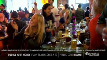 DraftKings Sportsbook TV Spot, 'Tis the Big Game: Double Your Money: New Customers Only' - Thumbnail 5