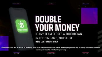 DraftKings Sportsbook TV Spot, 'Tis the Big Game: Double Your Money: New Customers Only' - Thumbnail 7