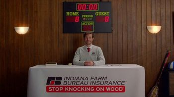 Indiana Farm Bureau Insurance TV Spot, 'Basement Basketball' - Thumbnail 8