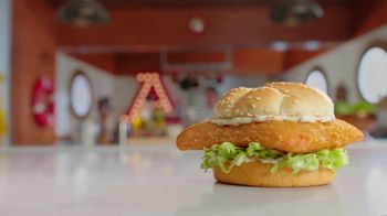 Arby's 2 for $6 Crispy Fish Sandwiches TV Spot, 'Catching Crispy, Flaky Fish: Everyday Value' Song by YOGI