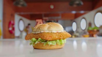 Arby's 2 for $6 Crispy Fish Sandwiches TV Spot, 'Catching Crispy, Flaky Fish: Everyday Value' Song by YOGI - Thumbnail 2