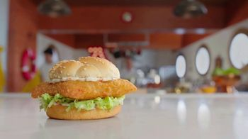 Arby's 2 for $6 Crispy Fish Sandwiches TV Spot, 'Catching Crispy, Flaky Fish: Everyday Value' Song by YOGI - Thumbnail 3