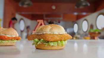 Arby's 2 for $6 Crispy Fish Sandwiches TV Spot, 'Catching Crispy, Flaky Fish: Everyday Value' Song by YOGI - Thumbnail 4