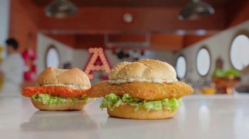 Arby's 2 for $6 Crispy Fish Sandwiches TV Spot, 'Catching Crispy, Flaky Fish: Everyday Value' Song by YOGI - Thumbnail 5
