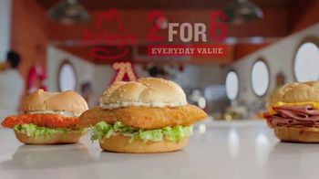 Arby's 2 for $6 Crispy Fish Sandwiches TV Spot, 'Catching Crispy, Flaky Fish: Everyday Value' Song by YOGI - Thumbnail 6
