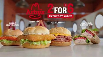Arby's 2 for $6 Crispy Fish Sandwiches TV Spot, 'Catching Crispy, Flaky Fish: Everyday Value' Song by YOGI - Thumbnail 8