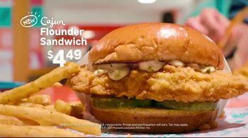 Popeyes Cajun Flounder Sandwich TV Spot, 'What's Not to Love?' - Thumbnail 8