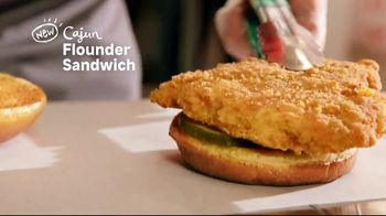 Popeyes Cajun Flounder Sandwich TV Spot, 'What's Not to Love?' - Thumbnail 1