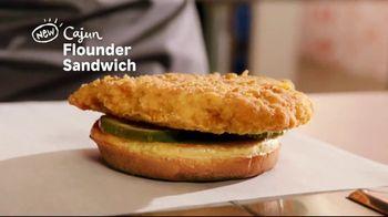 Popeyes Cajun Flounder Sandwich TV Spot, 'What's Not to Love?' - Thumbnail 2
