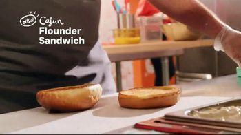 Popeyes Cajun Flounder Sandwich TV Spot, 'What's Not to Love?' - Thumbnail 3